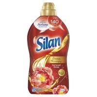 Кондиціонер-ополіскувач безфосфатний для тканин Silan Aromatherapy Чуттєва троянда, 1,45 л