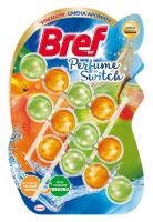 Туалетний блок Bref Perfume Switch Персик - яблуко, 3 шт.