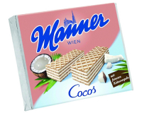 Вафлі Manner Wien Cocos 75г