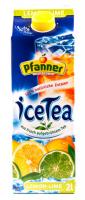 Напій Pfanner холодний чай Лимон-Лайм 2л