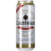 Пиво Clausthaler безалкогольне 0.5л ж/б