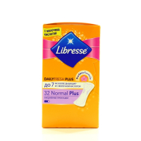 Прокладки Libresse Daily Fresh Plus 32шт Normal х6