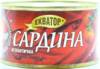 Сардина Екватор атлантична в томатному соусі 240г