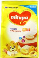 Каша Milupa Nutricia молочна суха рисова з абрикосом 210г х9