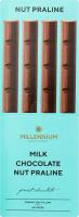 Шоколад Любимов молочний з горіховим праліне 38г
