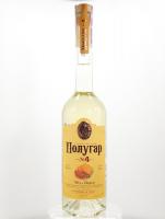 Напій Полугар №4 спиртовий зерновий Мед/перець 38,5% 0,5л х2