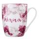 Чашка Китай сувенірна іменна Флора арт.065