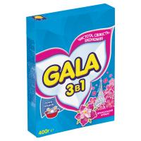 """Пральний порошок Gala 3в1 """"Французький аромат"""" для ручного прання, 400 г"""