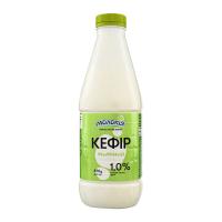 Кефір Молокія 1% пляшка 870г