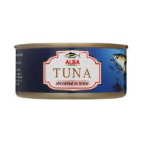 Тунець Alba Food салатний у власному соку ж/б 185г х48