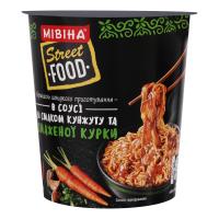 Вермішель Мівіна Street Food зі смаком кунжуту та курки 75г х24