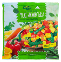 Суміш овочева Хуторок Мексиканська с/м 400г
