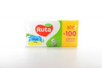 Серветки паперові столові Ruta Mega Pack 24*24см Білі, 400 шт.