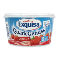 Сир Exquisa десерт з полуницею 0,2% 500г х7