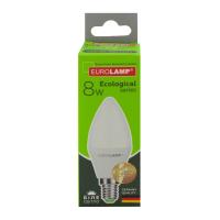 Лампа Eurolamp LED 8W E14 4000K арт.08144Р
