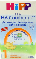 Суміш Hipp НА Combiotic суха молочна гіпоалергенна 350г х6