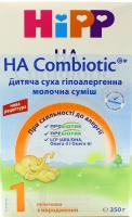 Суміш Hipp HA Combiotic 1 молочна суха гіпоалергенна 350г