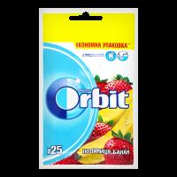 Жув.гумка Orbit полуниця-банан 35г х22
