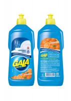 """Рідкий засіб для миття посуду Gala """"Апельсин"""", 500 мл"""