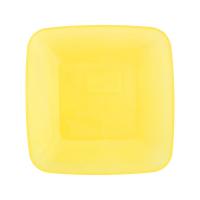 Тарілка квадратна пластикова 22*22см