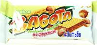 Вафлі Витьба Забота з фундуком та висівк.на фруктозі 33г