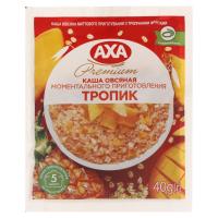 Каша Axa Premium вівсяна з тропічними фруктами 40г