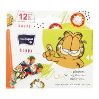 Дитячі пластирі медичні Matopat Happy, 12 шт.