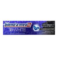 Зубна паста Blend-a-Med 3D White Деревне Вугілля, 100 мл