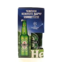 Набір пива Heineken №1 подарунковий 4*0,5л х6