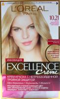 Фарба для волосся LOreal Excellence Creme 10,21
