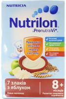 Каша Nutricia Nutrilon молочна 7 злаків з яблуком 225г х7