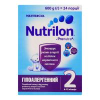 Суміш Nutricia Nutrilon Гіпоалергенний 2 600г