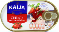 Оселедець Kaija філе в томатносу соусі 170г