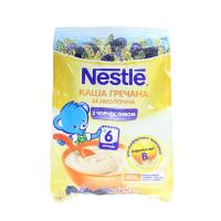 Каша Nestle гречана з чорносливом безмолочна 6м+ 180г х8