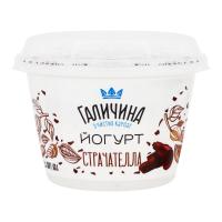 Йогурт Галичина Страчателла 2,5% 180г