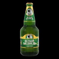 Пиво Белый Медведь світле с/п 0,45л