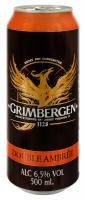 Пиво Grimbergen Double Ambree ж/б 0,5л х24