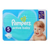 Підгузки Pampers active baby-dry 11-16кг 42шт. х6