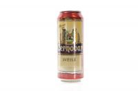 Пиво Cernovar світле фільтр. з/б 0,5л х6
