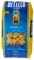 Макарони De Cecco Farfalle №93 500г х12