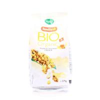 Кранчі Familia органічні з медом та мигдалем 375г