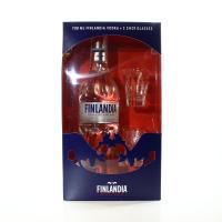 Горілка Finlandia 40% 0,7л + 2 чарки х3