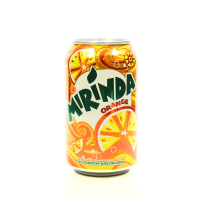 Напій Mirinda зі смаком апельсина ж/б 0,33л х24