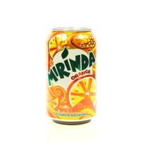Вода Mirinda солодка Апельсин 0,33л з/б х24