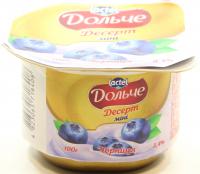 Десерт сирковий Дольче чорниця міні 100г х8
