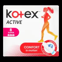 Тампони гігієнічні Kotex Active Super, 8 шт.