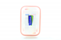Ємність Glasslock склянна з пласт.кришкою 395мл арт.ORRT-039