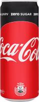 Напій Coca-Cola Zero нуль цукру ж/б 0,33л