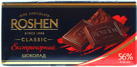 Шоколад Roshen екстрачорний 90г