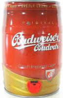 Пиво Budweiser світле 5% ж/б 5л х6